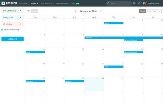 Pangong I Developer-friendly Admin Dashboard UI framework
